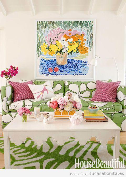 para decorar casa en verano estilo bohemio