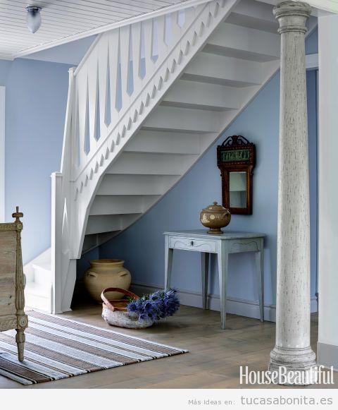 Muebels blancos para decorar casa en verano