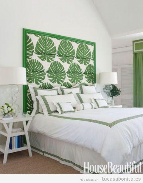 Ideas variadas para decorar tu casa en verano con - Decorar cabecero cama ...