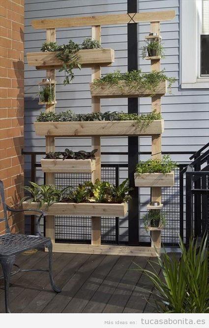 Palets tu casa bonita ideas para decorar pisos modernos for Jardineras para patios pequenos