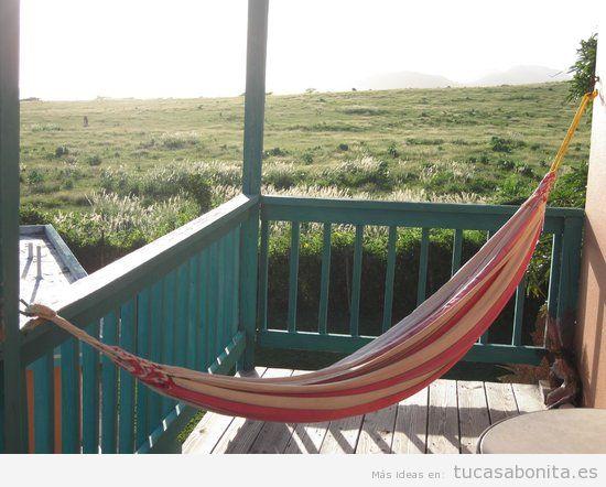 Hamaca para balcón