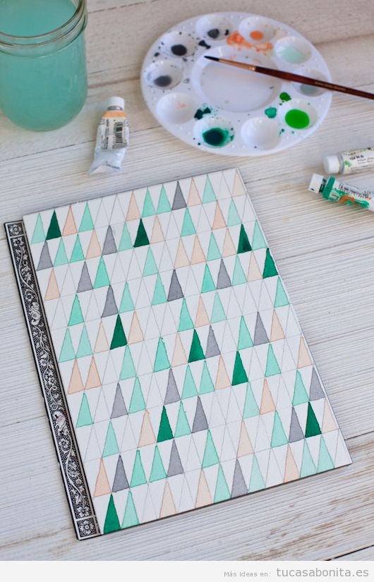 Manualidades o DIY Wall Art para decorar pared de casa