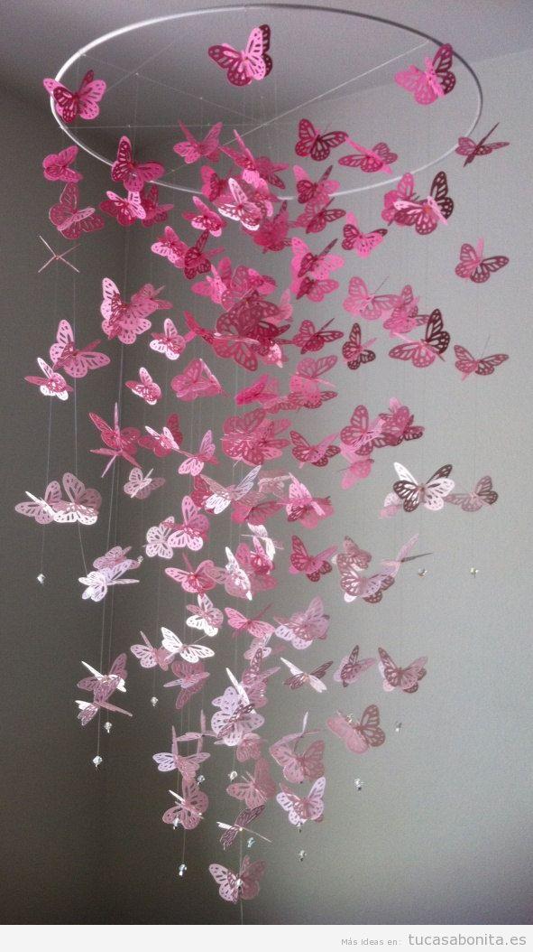 Manualidades con papel para decorar tu casa diy tu casa - Manualidades para decorar paredes ...