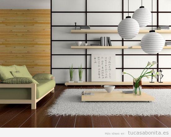 Baños Japoneses Modernos:Ideas para decorar sala de estar, dormitorios, baños y cocinas estilo
