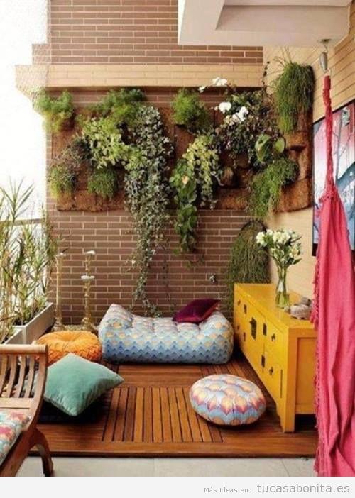 Ideas para decorar salas de estar dormitorios balcones y jardines