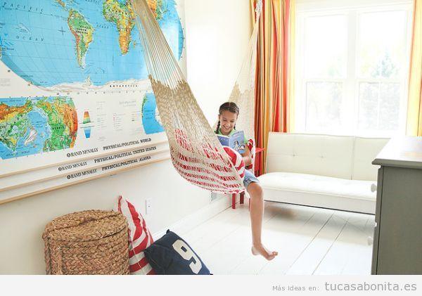 Hamaca para una habitación infantil