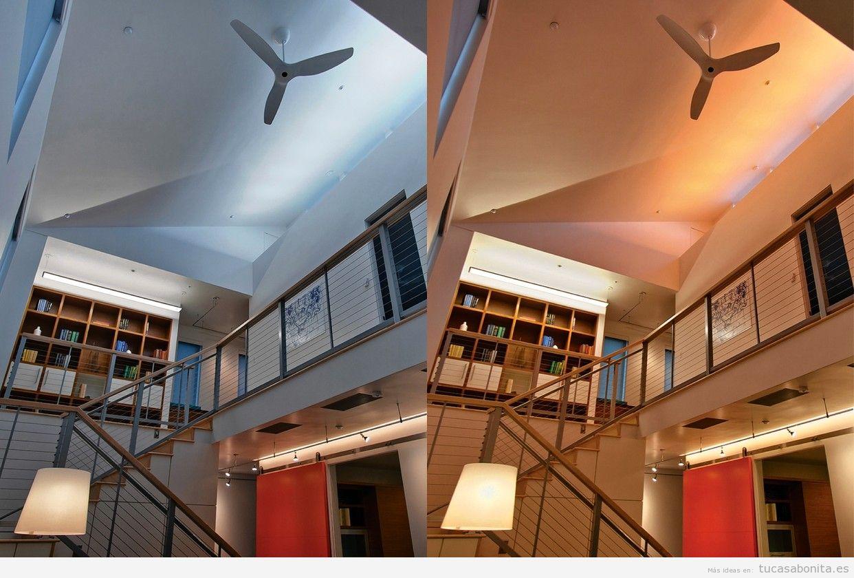 cd4e85ae951 Consejos e ideas para iluminar tu casa con luces LED - Tu casa Bonita