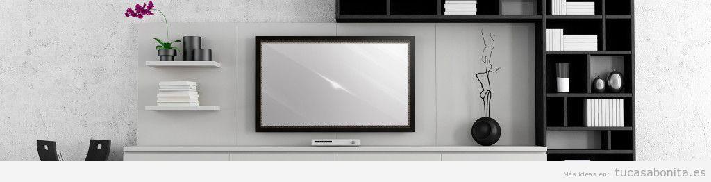 Televisor oculto en un espejo 3