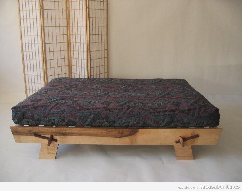 Casma futón base de madera