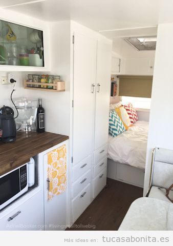 Ideas para decorar tu caravana o autocaravana estilo for Interiores de caravanas reformadas