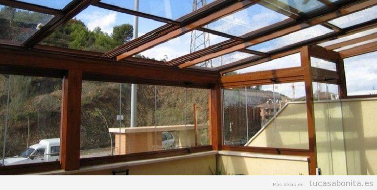 Techo fijo cristal terraza 2
