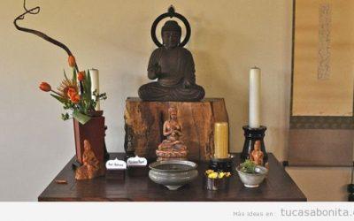 Altares católicos, budistas y paganos en casa