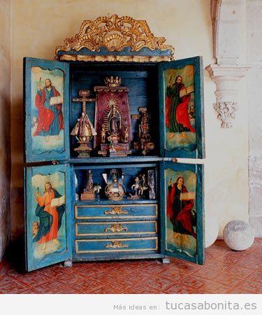Altares católicos en casa