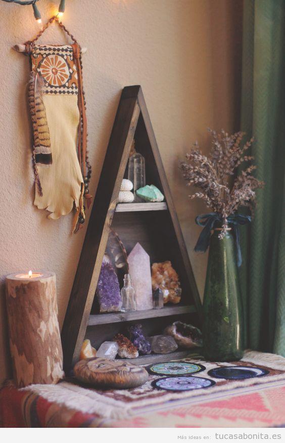 Altares paganos y de naturaleza en casa 4