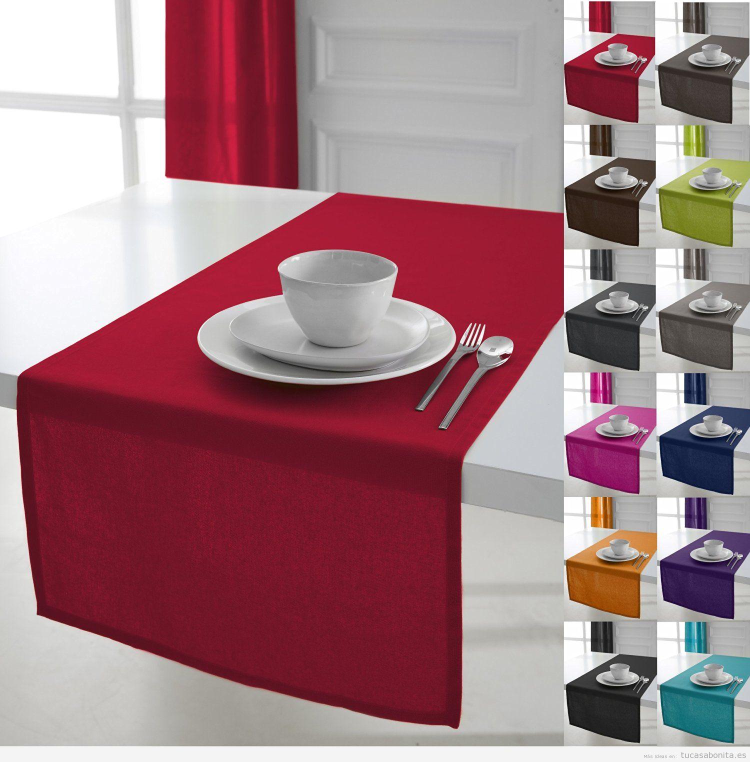 Ideas tu casa bonita ideas para decorar pisos modernos for Caminos de mesa modernos