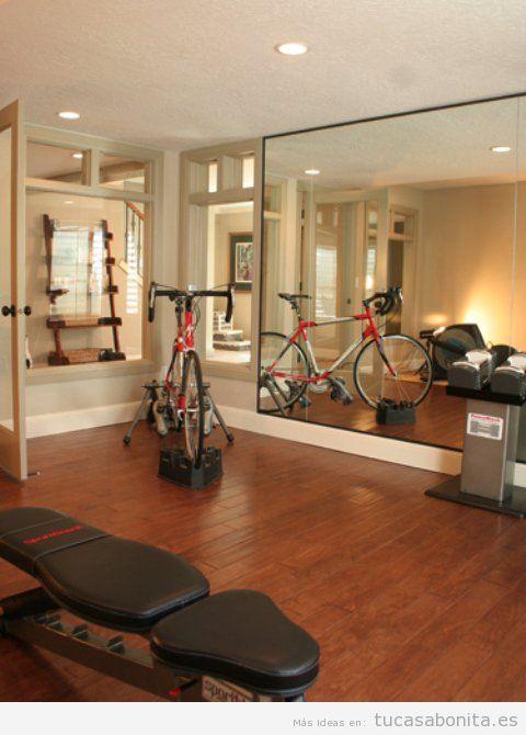 Ideas para diseñar, amueblar y decorar un gimnasio o estudio de yoga en casa