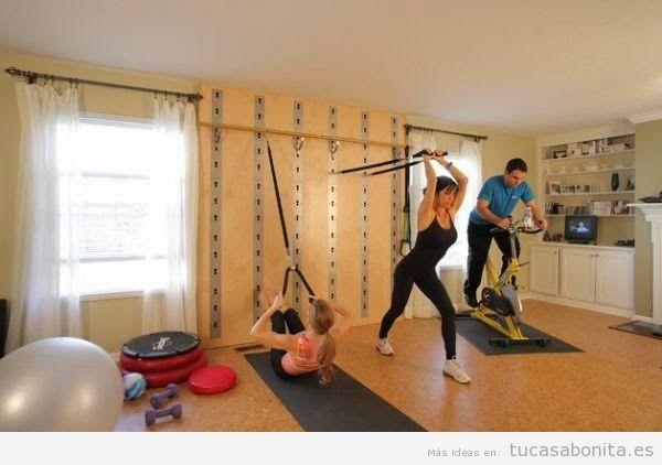 Ideas para decorar y amueblar un gimnasio en casa 3