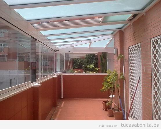 Cerramientos balcones cortinas de cristal