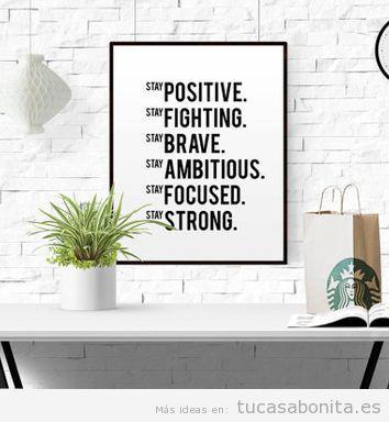 Posters motivacionales para decorar despacho 2