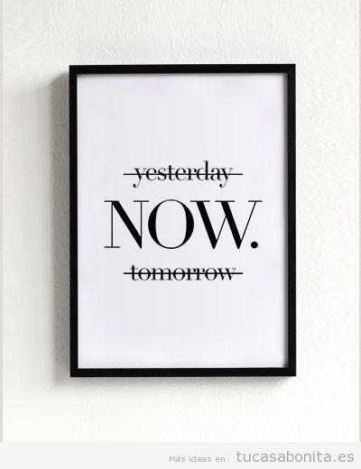 Posters motivacionales para decorar sala de estar 4