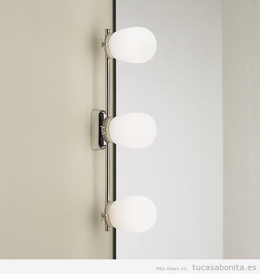 Apliques pared laterales para baño o tocador