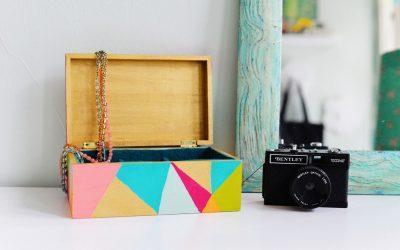 Decorar distintas estancias de tu casa con cajas de todo tipo