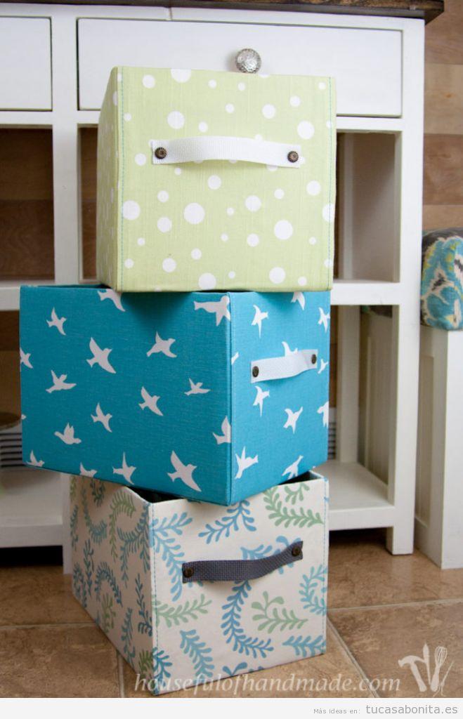 Ideas decorar habitación con cajas bonitas 2