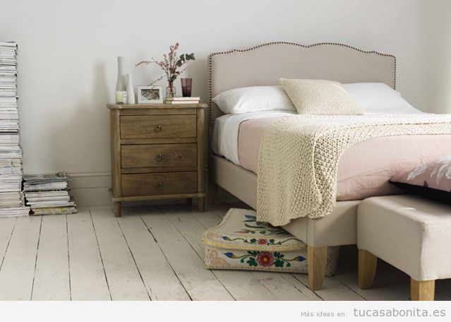 Ideas decorar habitación con cajas bonitas de madera