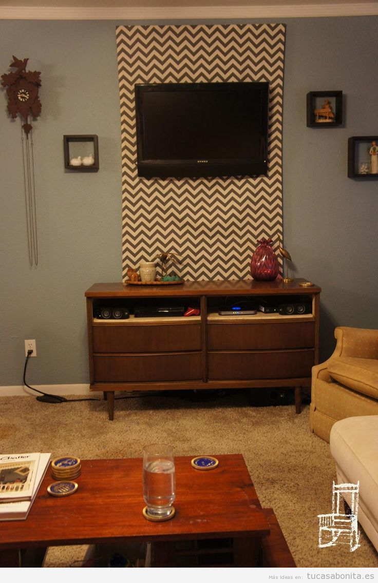 Ideas creativas para esconder y disimular cables en la pared tu casa bonita - Caja para ocultar cables ...