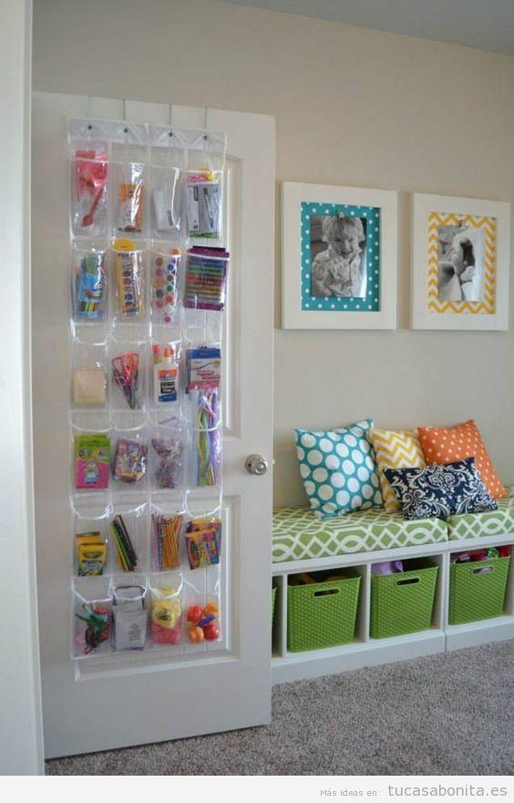 Ideas para almacenar y ordenar habitaciones para niños 6