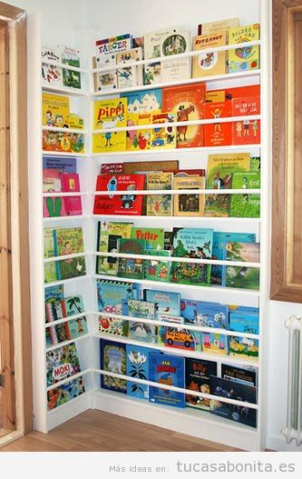 Ideas para almacenar y ordenar habitaciones para niños 5
