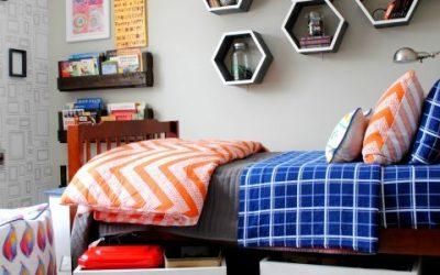 Ideas para ordenar y almacenar objetos en habitaciones para niños