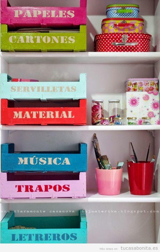 Ideas para almacenar y ordenar habitaciones para niños