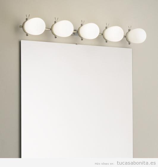 Apliques pared para baño o tocador