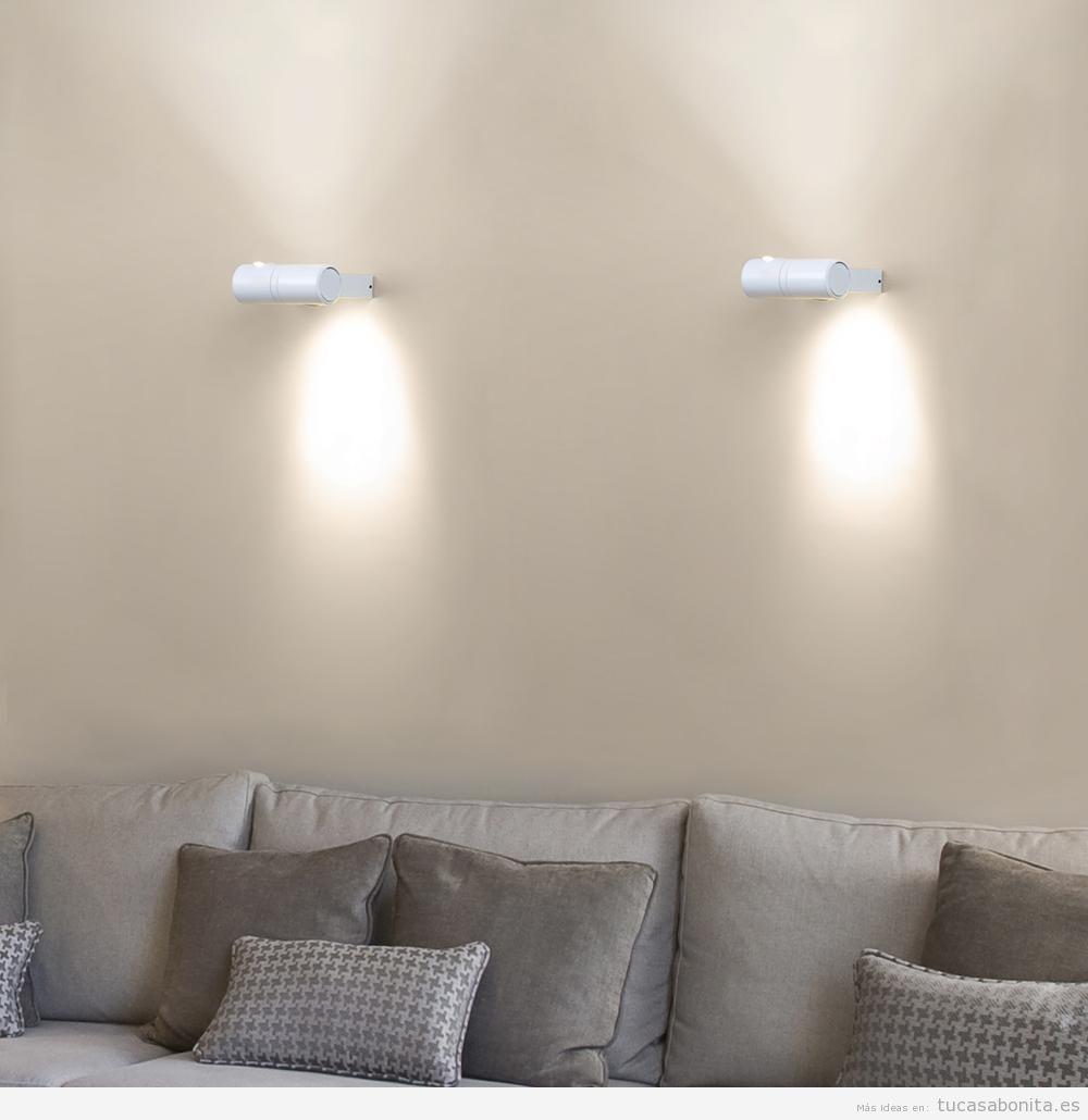 Apliques de pared ahorra espacio y gana en iluminaci n - Apliques de pared originales ...