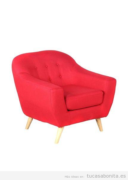 Sillón rojo de diseño marca Superstudio barato, outlet