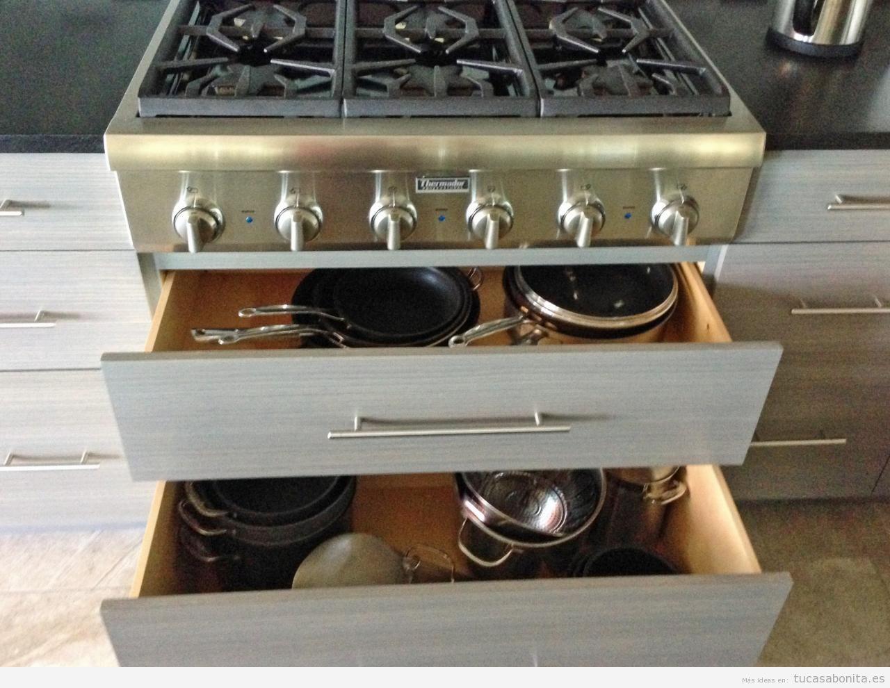 Ideas y trucos para tener organizada y ordenada la cocina - Trucos para tener la casa ordenada ...
