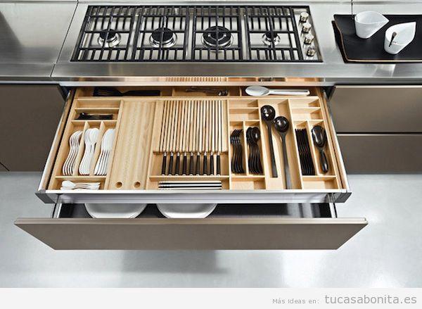 Cocina tu casa bonita ideas para decorar pisos modernos for Organizar cajones cocina