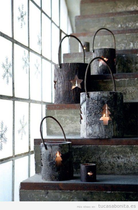 Ideas países escandinavos para decorar casa en Navidad
