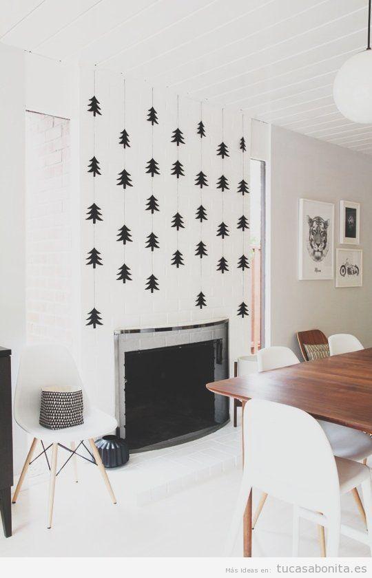 Ideas países escandinavos para decorar casa en Navidad 2