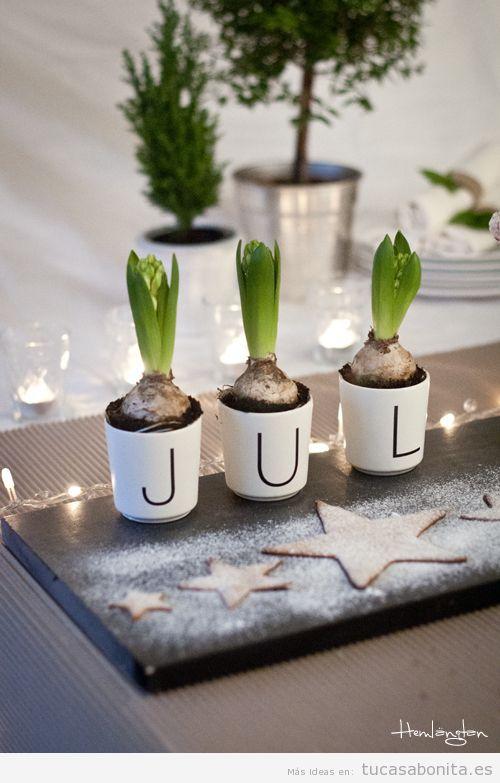 Ideas países escandinavos para decorar casa en Navidad 3