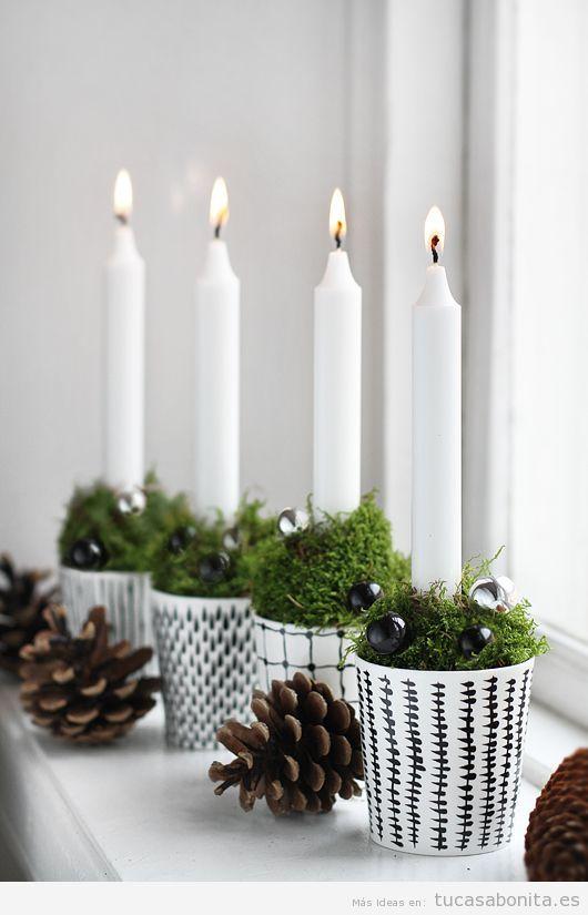 Ideas países escandinavos para decorar casa en Navidad 4