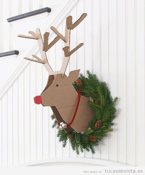 Ideas países escandinavos para decorar casa en Navidad 6