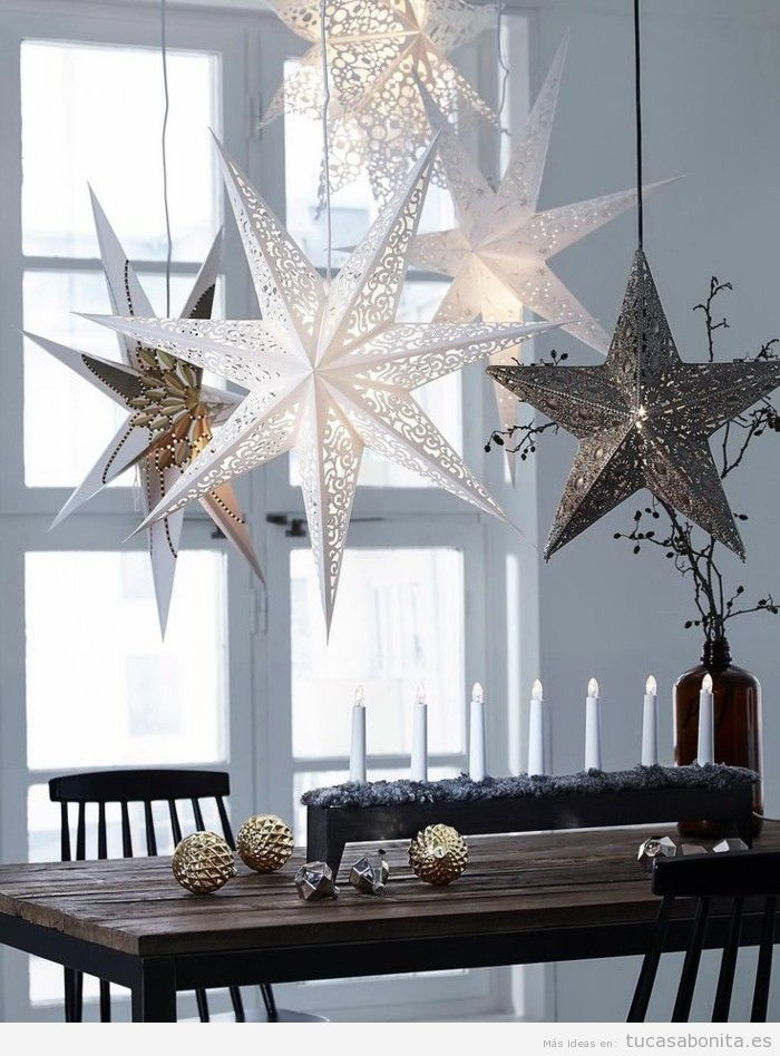 Ideas países escandinavos para decorar casa en Navidad 7
