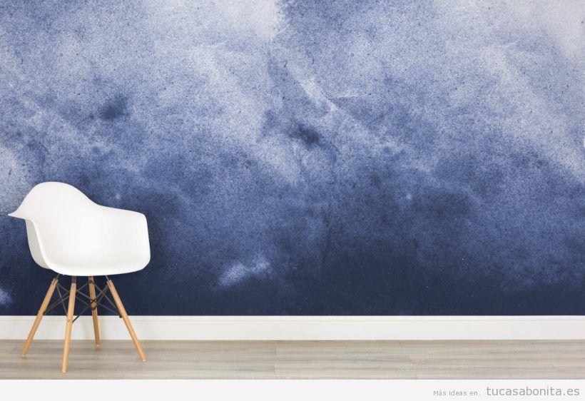 Ideas decorar paredes de casa con pintura acuarela 5