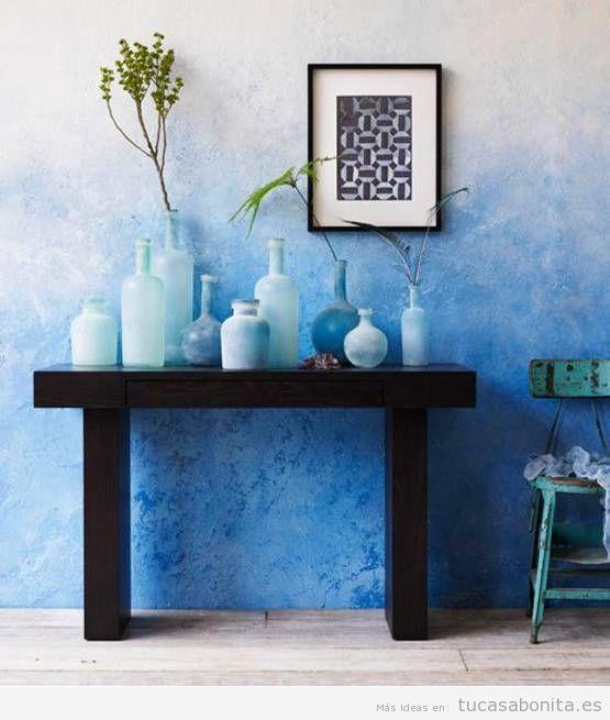 Ideas decorar paredes de casa con pintura acuarela 10