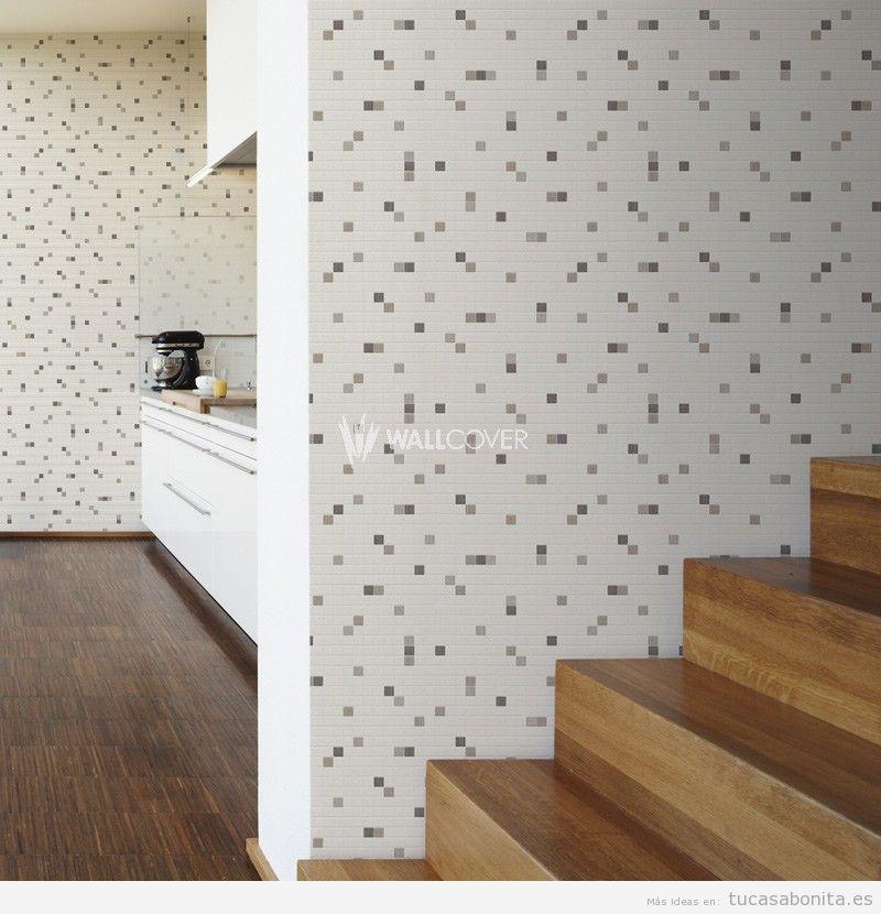 Tutoriales tu casa bonita ideas para decorar pisos - La casa del papel pintado ...