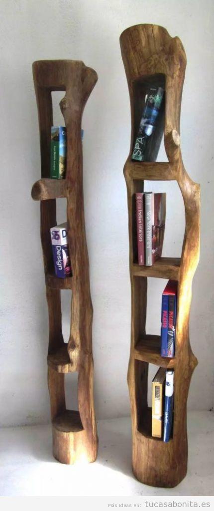 Tótem estantería libros
