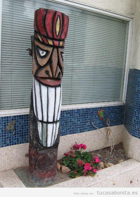Tótem para decorar entrada de casa 2
