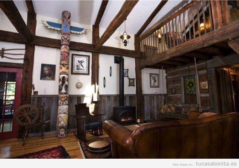 Tótem decoración de casa o cabaña 2